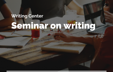 Seminar on writing